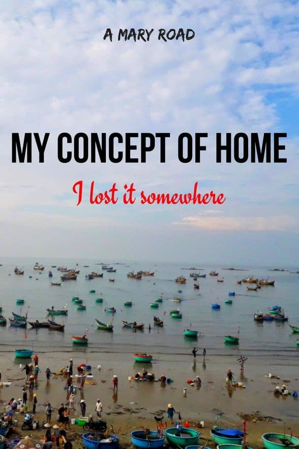 My Concept of Home, the concept of home lost somewhere, forever lost